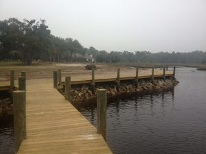 residential boardwalk construction
