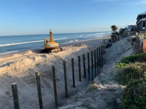 seawall construction